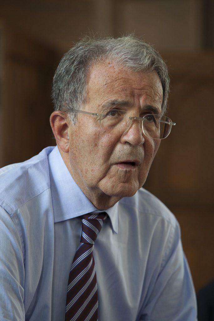 Romano Prodi at Pembroke College, Cambridge